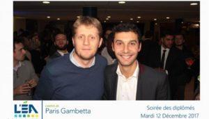 L'EA Campus de Paris gambetta : Kliméo remet les diplômes de BTS
